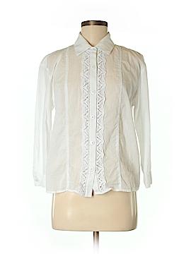 CAbi 3/4 Sleeve Button-Down Shirt Size 8