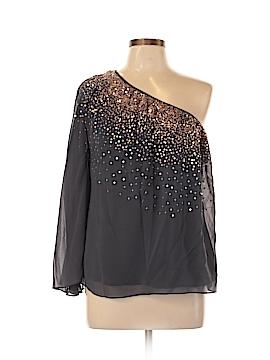 Madison Marcus 3/4 Sleeve Silk Top Size M