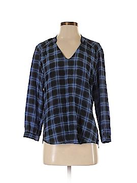 Amanda Uprichard Long Sleeve Silk Top Size S