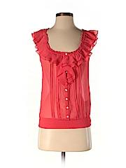 Gilly Hicks Women Sleeveless Blouse Size XS