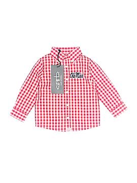 Garb Long Sleeve Button-Down Shirt Size 12 mo
