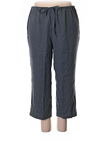 Soft Surroundings Linen Pants Size 1X (Plus)