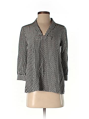 Kate Spade New York 3/4 Sleeve Silk Top Size 0