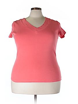 Rafaella Short Sleeve T-Shirt Size 1X (Plus)