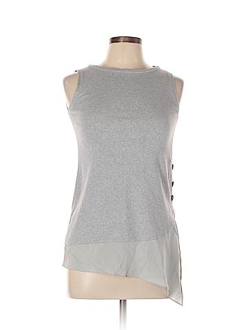 Brunello Cucinelli Sleeveless Silk Top Size L