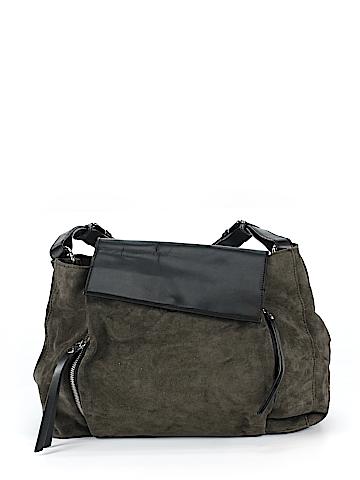 Zara Leather Shoulder Bag One Size