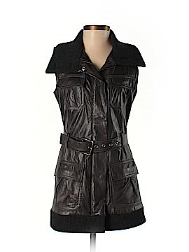 Diane von Furstenberg Leather Jacket Size 2