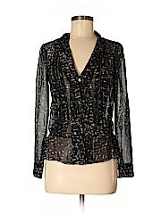 Eliot Women Long Sleeve Silk Top Size XS