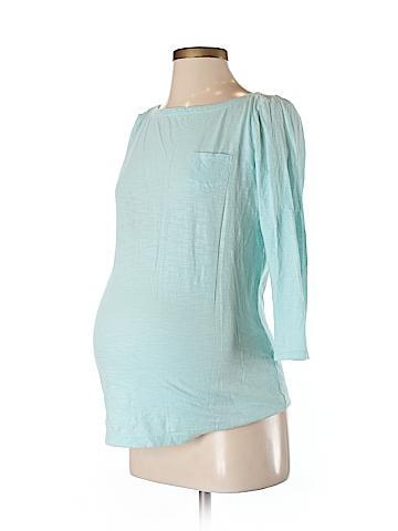 Ann Taylor LOFT Maternity 3/4 Sleeve T-Shirt Size XS (Maternity)