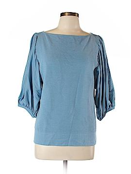 Escada 3/4 Sleeve Silk Top Size 42 (EU)