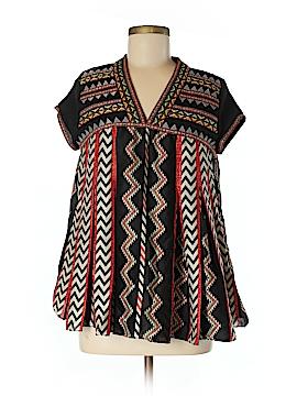 Ranna Gill Short Sleeve Blouse Size 6