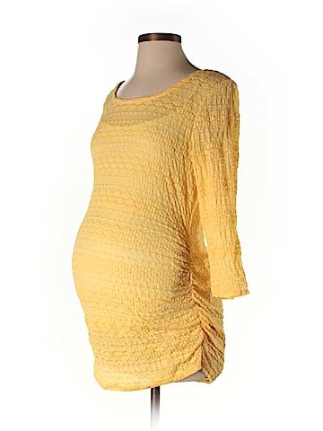 Jessica Simpson Maternity 3/4 Sleeve Top Size M (Maternity)