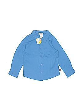 Zutano Long Sleeve Button-Down Shirt Size 4T