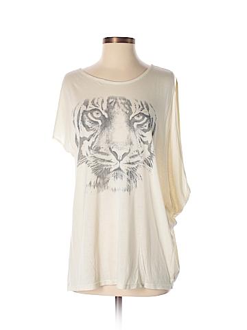 Haute Hippie Short Sleeve Top Size M