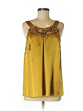 Kenar Sleeveless Silk Top Size M