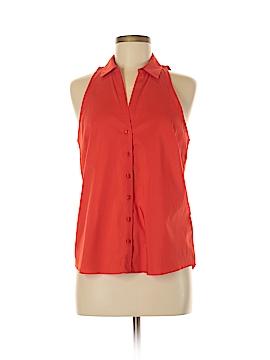 Laundry by Shelli Segal Sleeveless Button-Down Shirt Size 6