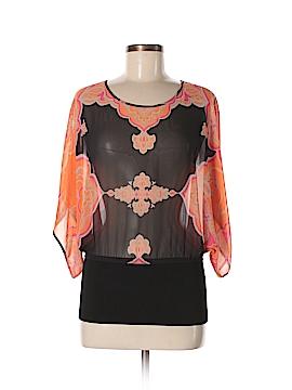 INC International Concepts 3/4 Sleeve Blouse Size 6
