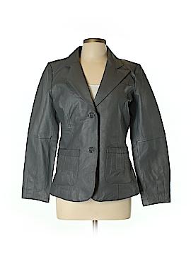 Metro Style Leather Jacket Size 12