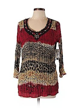 City Girl 3/4 Sleeve Blouse Size L
