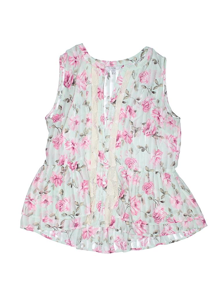 Q&A Women Sleeveless Blouse Size M