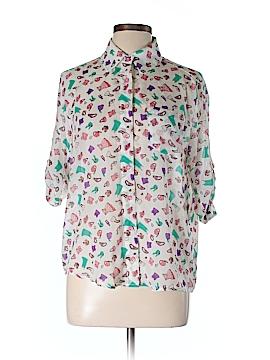 Maude Short Sleeve Blouse Size M