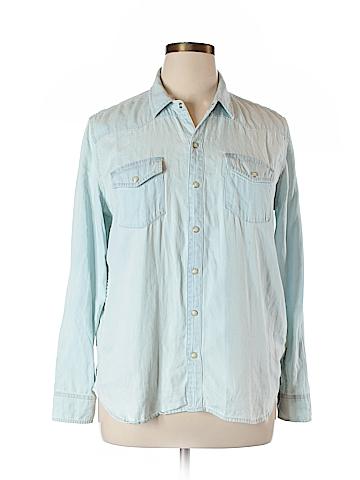 Lucky Brand Long Sleeve Button-Down Shirt Size XL