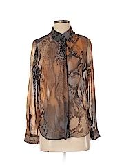 C-lective Women Long Sleeve Blouse Size S