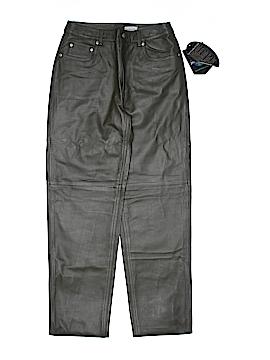 Jeanology Leather Pants Size 8