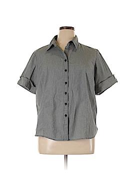 George Short Sleeve Button-Down Shirt Size 18 - 20 Plus (Plus)