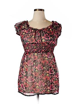 Julie's Closet Short Sleeve Blouse Size XL