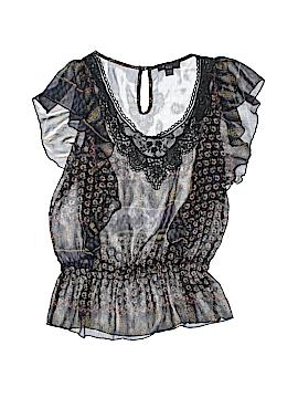Boutique XXI Short Sleeve Blouse Size M