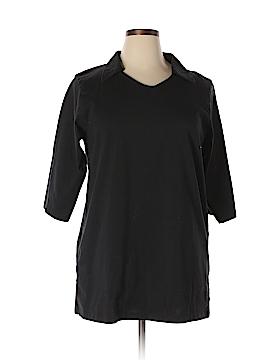 Junonia 3/4 Sleeve T-Shirt Size 1X (Plus)