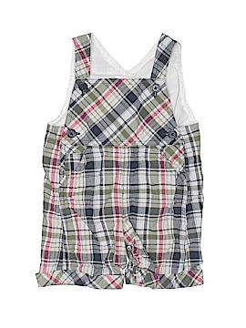 Petit Ami Overall Shorts Size 0-3 mo