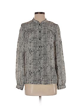 Wren Long Sleeve Silk Top Size S