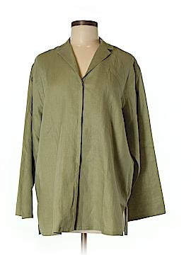Max Studio Long Sleeve Button-Down Shirt Size M