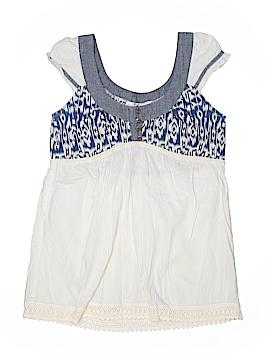 Tramp Short Sleeve Blouse Size M