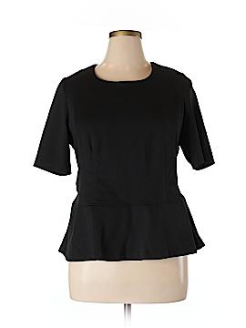 Style&Co Short Sleeve Blouse Size XL (Petite)