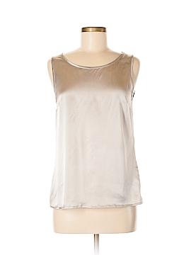 Peserico Sleeveless Silk Top Size 42 (IT)