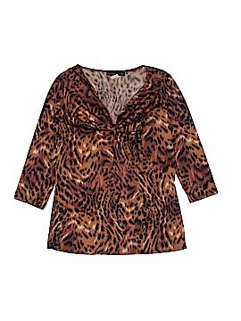 American City Wear 3/4 Sleeve Top Size S