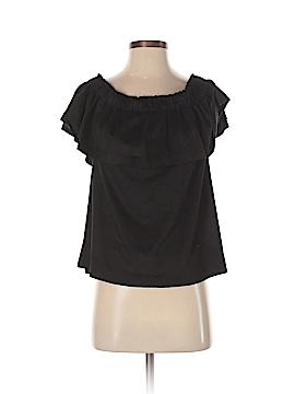 Young Fabulous & Broke Short Sleeve Blouse Size M