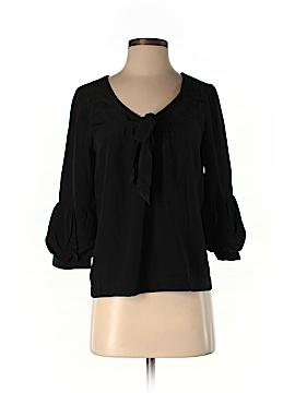 Gant 3/4 Sleeve Silk Top Size 6