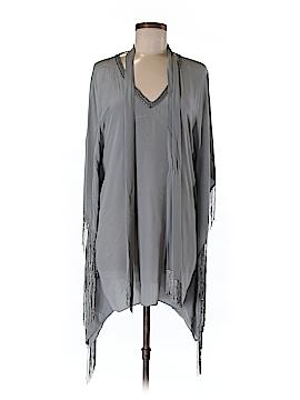 Calypso St. Barth Short Sleeve Silk Top Size Sm (0)