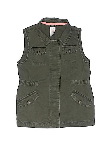 Cat & Jack Denim Vest Size 6/6X