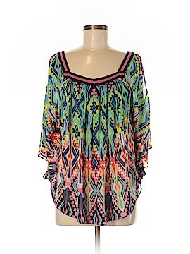 Nicole Miller 3/4 Sleeve Blouse Size M