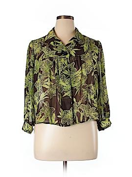 Serenade Long Sleeve Blouse Size XL