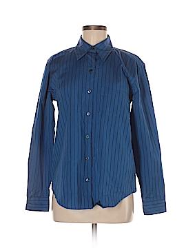 Geoffrey Beene Sport Long Sleeve Button-Down Shirt Size 6
