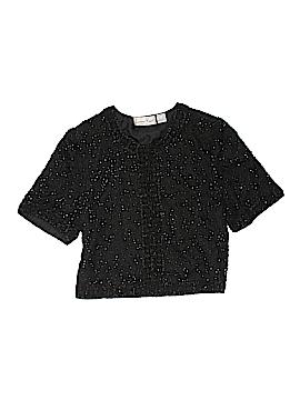 Laurence Kazar New York Silk Cardigan Size XL