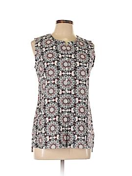 Van Heusen Sleeveless Button-Down Shirt Size SP