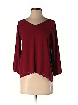 Crescent 3/4 Sleeve Blouse Size S (Petite)
