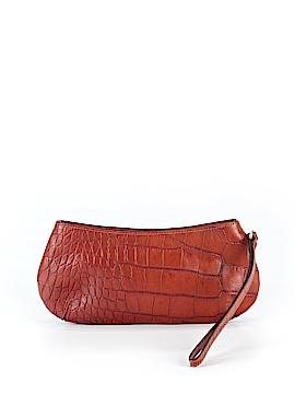 Maurizio Taiuti Leather Wristlet One Size